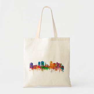 Christchurch New Zealand Skyline Budget Tote Bag