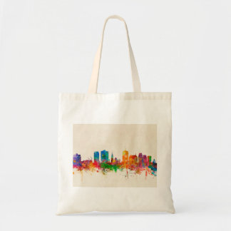 Christchurch New Zealand Skyline Tote Bag