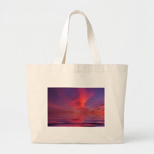 Christchurch Sunset Canvas Bags