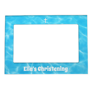 Christening Magnetic Picture Frame