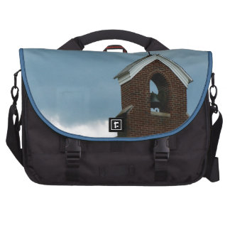 Christian Country Church Steeple Cross Bell Commuter Bags