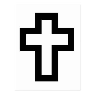 Christian (Latin) Cross Postcard