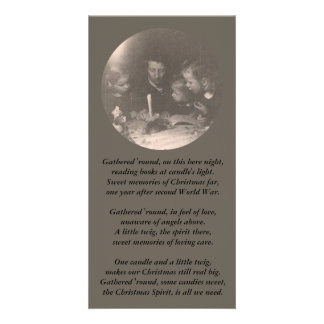 Christmas 1946 photo greeting card