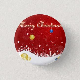 Christmas 3 Cm Round Badge