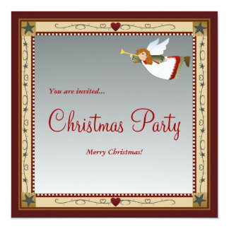 Christmas Angel(2) Invitations