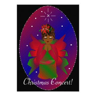 Christmas Angel Custom Invites