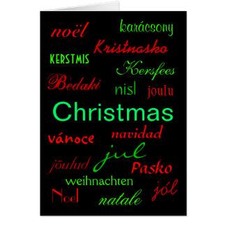 """Christmas Around The World"" Card"
