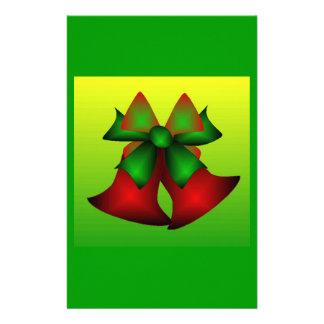 Christmas Bells I Customized Stationery
