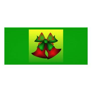 Christmas Bells II Customized Rack Card