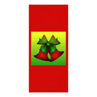 Christmas Bells III Customized Rack Card