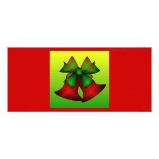 Christmas Bells III Rack Card Design