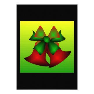 Christmas Bells Invite