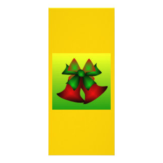 Christmas Bells IX Personalized Rack Card