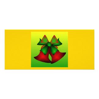 Christmas Bells V Custom Rack Card