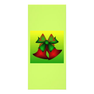 Christmas Bells VI Rack Card Template