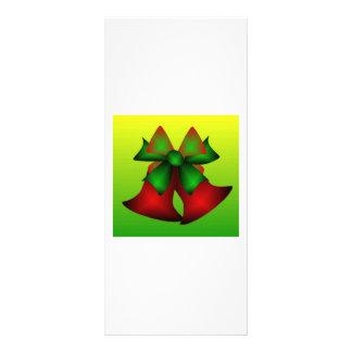 Christmas Bells VIII Customized Rack Card