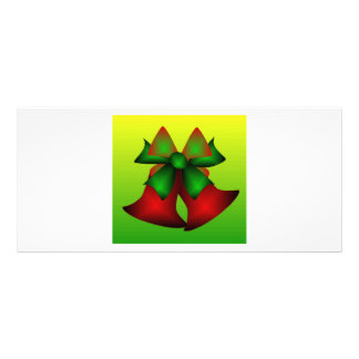 Christmas Bells VIII Rack Card Template