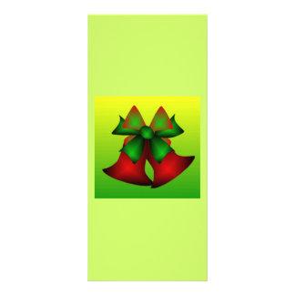 Christmas Bells X Custom Rack Card