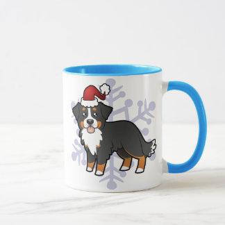 Christmas Bernese Mountain Dog Mug