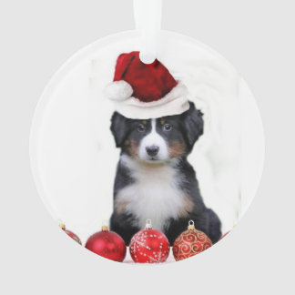 Christmas Bernese Mountain Dog Ornament