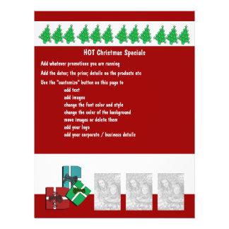 Christmas business promotional marketing leaflets flyer
