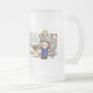 "Christmas ""But Sir"" Cartoon No. 3 Mug"