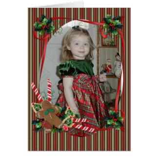 Christmas card for photo