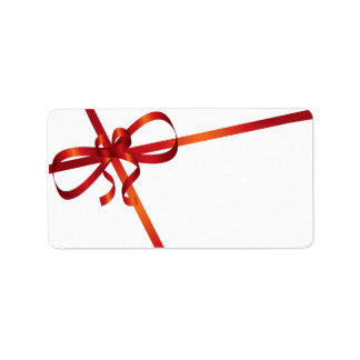 Christmas Card Mailing Labels
