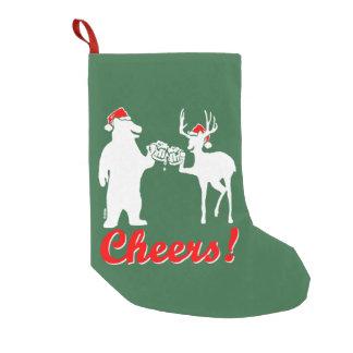 Christmas cheers! small christmas stocking