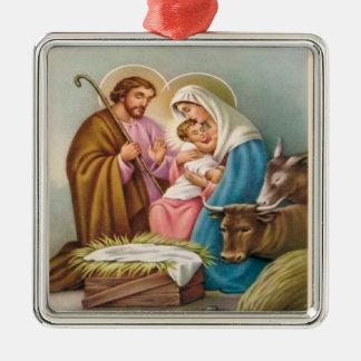 Christmas Collection Baby Jesus Nativity Tree Christmas Ornament