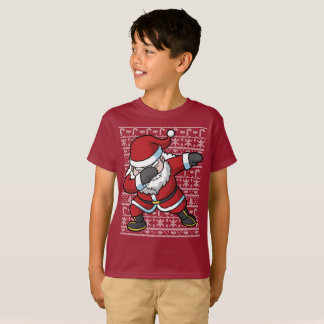 Christmas Dabbing Santa Clause Dab T-Shirt