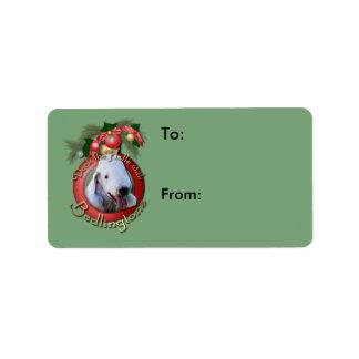Christmas - Deck the Halls - Bedlingtons Label