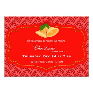 Christmas dinner cards
