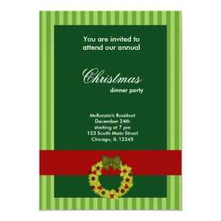 Christmas Dinner Custom Invite