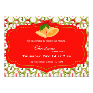 Christmas dinner custom announcement