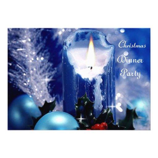 Christmas Dinner Party 4 Invitation