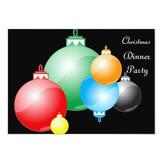 Christmas Dinner Party 5 Invitation