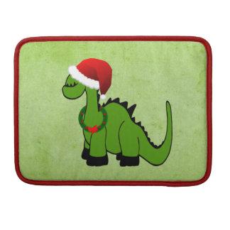 Christmas Dinosaur Sleeve For MacBook Pro