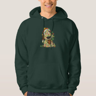 Christmas Dog Hooded Pullover