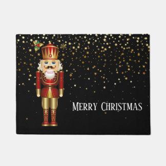 Christmas Door Mat-Nutcracker Doormat