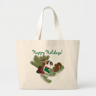 Christmas Faery and Squirrel Gift Giving Bag