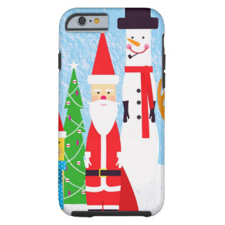 Christmas Figures Tough iPhone 6 Case