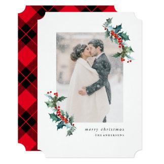 Christmas Garland Photo Card