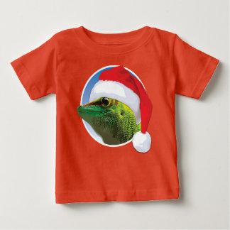 Christmas Gecko - Baby Fine Jersey T-Shirt