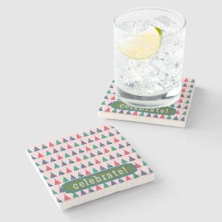 Christmas Stone Beverage Coaster