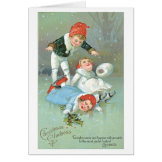 Christmas Gladness Greeting Card