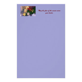 Christmas Glow Writing paper Customized Stationery