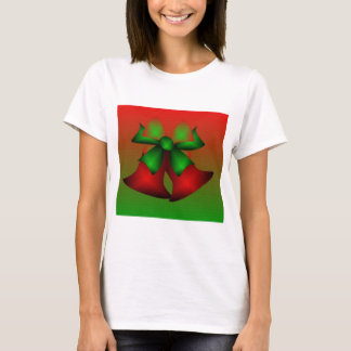 Christmas Green Bells Merry Christmas T-Shirt