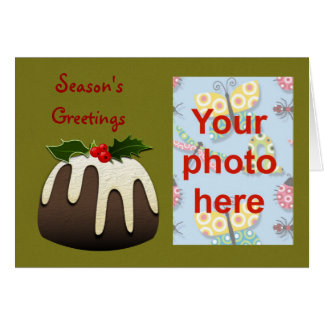 Christmas Happy Holidays Season's Greetings photo Card