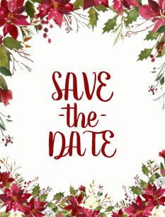 Christmas Save The Date Clipart.Christmas Save Date Gifts On Zazzle Nz